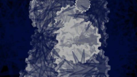 4k Daisy Flower,cell Spore Virus Bacteria Microbe,foam Bubble Split Particle stock footage