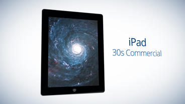 iPad 30s Commercial - After Effects Template After Effectsテンプレート