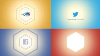 Modern Hexagon Logo - After Effects Template After Effects Template
