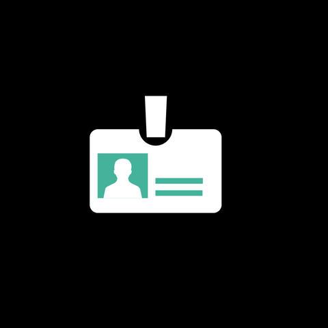 Badge Flat Icon Animation
