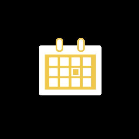 Calendar Flat Icon Animation