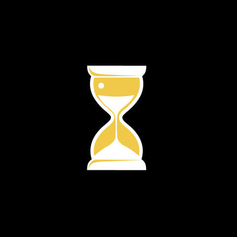 Hourglass Flat Icon Animation