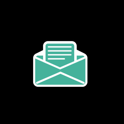 Mail Flat Icon Animation