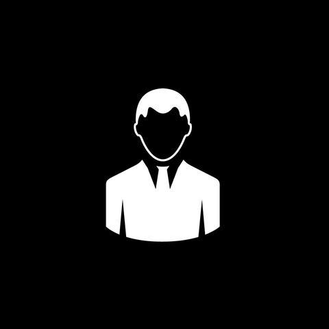 Men Flat Icon Animation