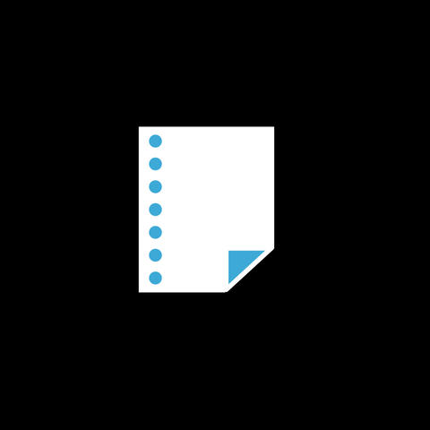 Paper Flat Icon Animation