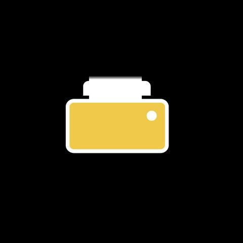 Shredder Flat Icon Animation
