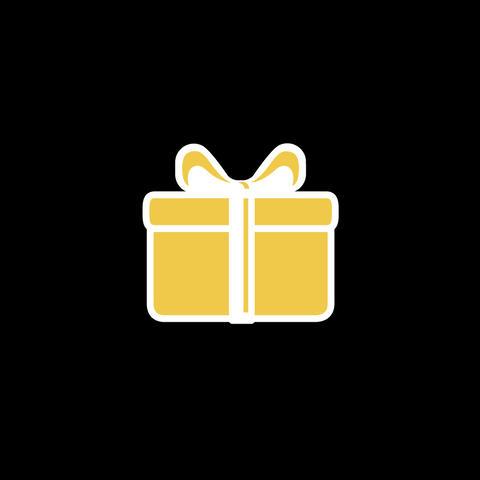 Gift Flat Icon Animation