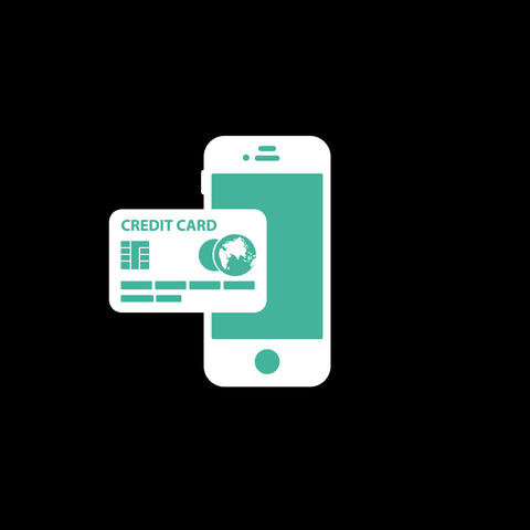 Purchase By Phone Flat Icon Animation