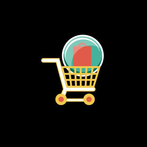 Shopping Flat Icon Animation