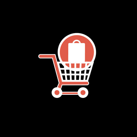 Shopping Flat Icon Bild