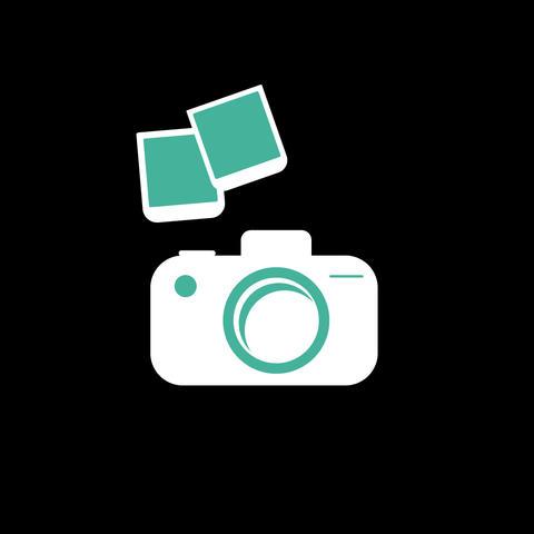 Camera Flat Icon Animation