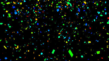 Confetti Particle After Effects Template