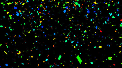Confetti Particle After Effectsテンプレート