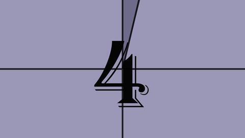 4k countdown 2 Footage