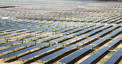 Solar Farm Time Lapse Live Action