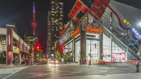 Toronto, Canada - Timelapse - John and Richmond St Footage