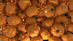 Pumpkin halloween transition spooky trick or treat face carved haloween punkin ภาพวิดีโอ
