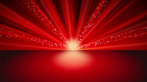 Glitter Red Background Animation