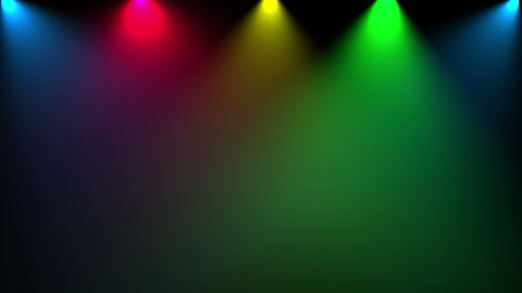Disco light. Cg animation Seamless loop Stock Video Footage
