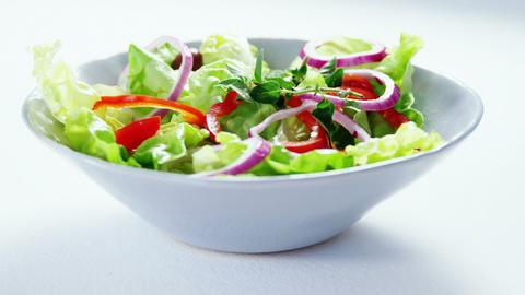 Close-up of salad Footage
