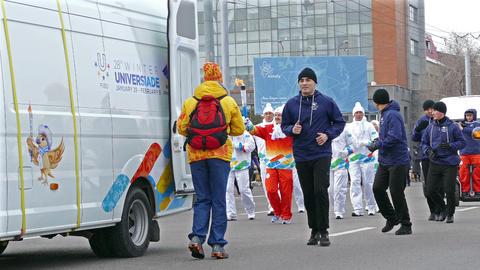 Winter Universiade Almaty 4K Footage