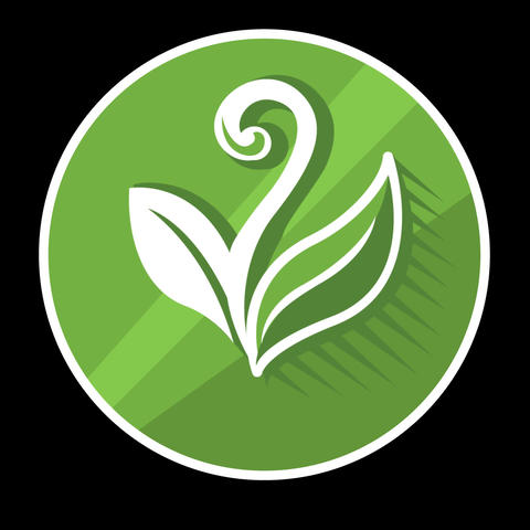Plant Flat Icon With Alpha Channel Animation