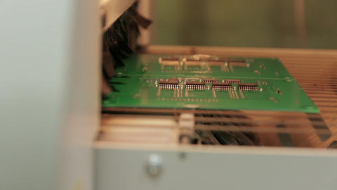 Electronics Chips Creating 03 Footage
