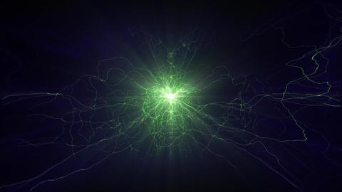 Lightning electrical arcs sci fi power reactor orb future voltage tech glow 4k Footage