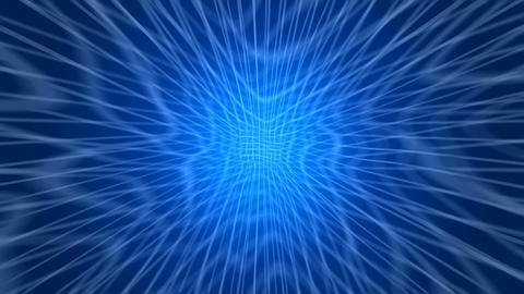 Blue back grid CG動画