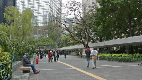 Chater Garden Footage