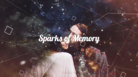 Sparks of Memory After Effects Template