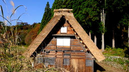 Japan's World Cultural Heritage Nature-rich Shirakawa-go Village DSCF3072 Footage