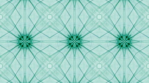 fractal radial pattern on the subject of science technology and design Animation