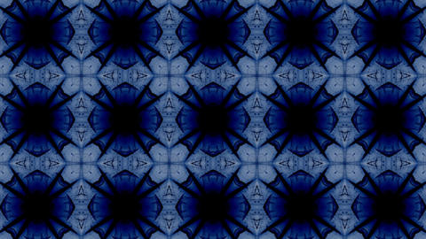 fractal radial pattern on the subject of science... Stock Video Footage