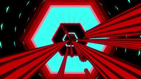 Tunnel Chaos 4K 02 Vj Loop Animation