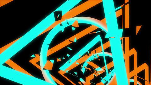 Tunnel Chaos 4K 06 Vj Loop Animation