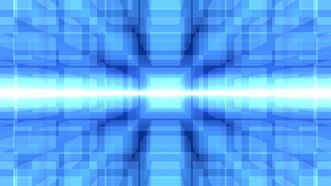 Blue cube CG動画