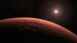 Mars Reveal CG動画素材