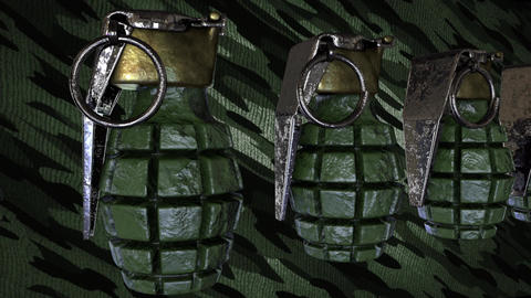 Sidemoving Grenades Loop Animation