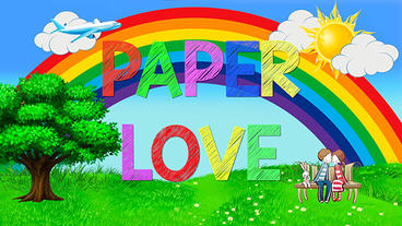 Paper Love Plantilla de Apple Motion