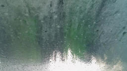 Car washing, view from inside Footage
