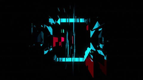 Beat Impact 4K 03 Vj Loop Animation