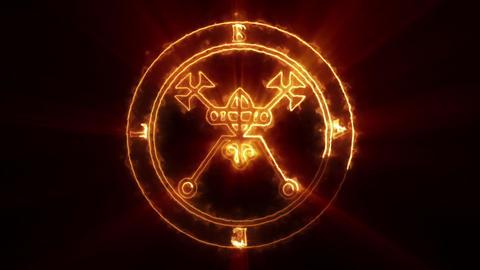 Bael Occult Symbol Loop Bild