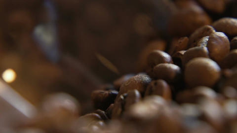 Coffee Beans Scoop Live Action