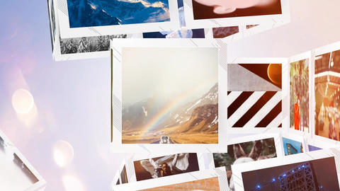 Elegant PRO Slideshow After Effects Template