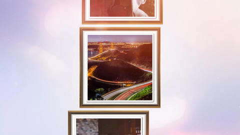 High Pulsations photo Album After Effects Template