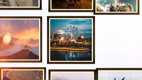 Simple Photo Slideshow After Effects Template