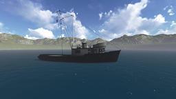 boat sea Animation