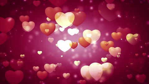 Hearts Background 2
