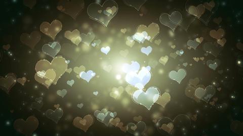 Hearts Background (2) Animation